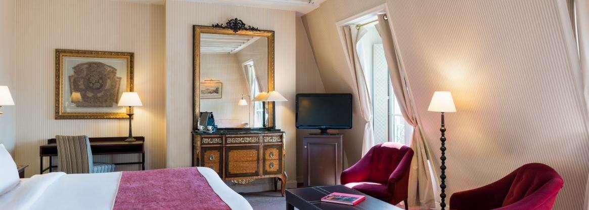 Bienvenue sur le nouveau site de l'Hôtel Lenox Montparnasse