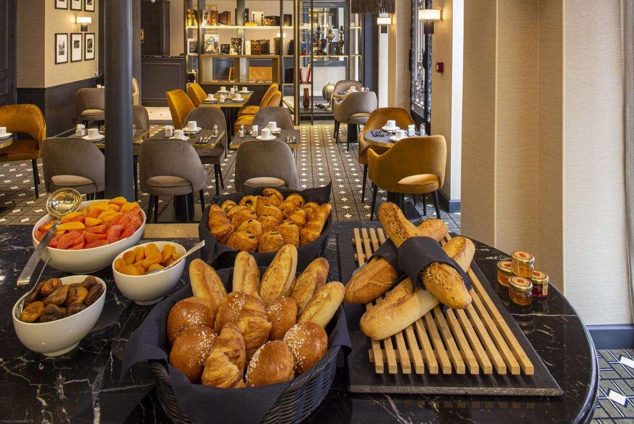 Hotel Lenox Montparnasse - Breakfast